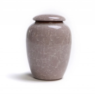 Keramische Mini Urn Light Grey