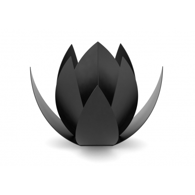 RVS Black Urn Lotus 1,0 Liter