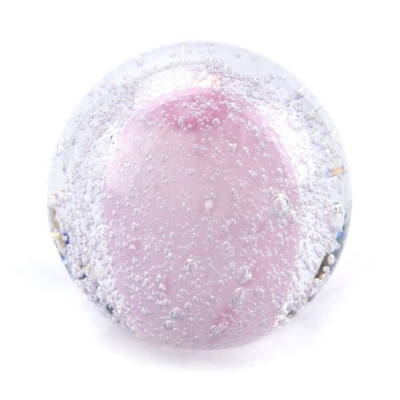 Mini Urn Glasobject Stardust Bulb Roze