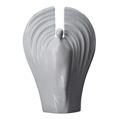 Keramische Urn Guardian White