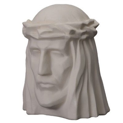 Keramische Urn The Christ Unglazed