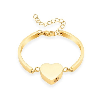 As Armband Design Hartje Goud Verguld