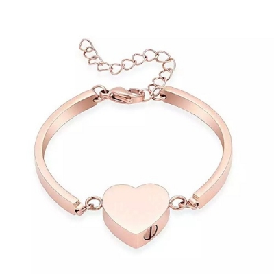 As Armband Design Hartje Rose Goud Verguld