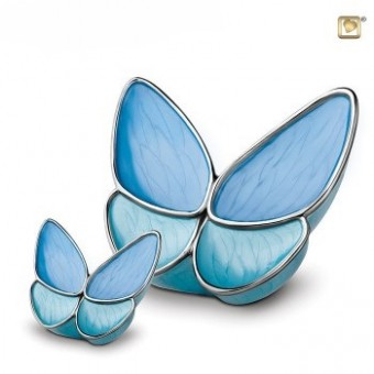 Urn Messing Butterfly